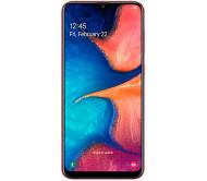 Смартфон Samsung Galaxy A20 (красный)