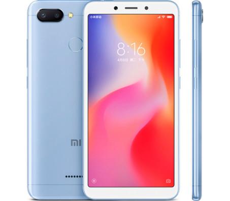 Смартфон Xiaomi Redmi 6 4GB/64GB (голубой)