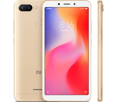 Смартфон Xiaomi Redmi 6 3GB/64GB (золотистый)