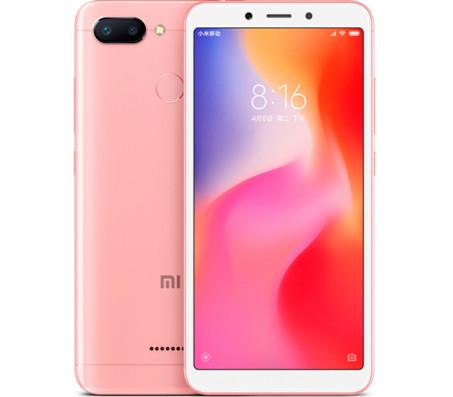 Смартфон Xiaomi Redmi 6 4GB/64GB (розовый)