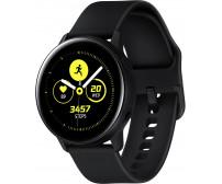 Умные часы Samsung Galaxy Watch Active (черный сатин) (SM-R500)
