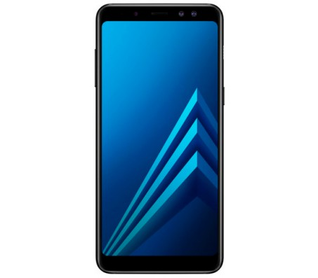 Смартфон Samsung Galaxy A8 (2018) 32GB  (черный)