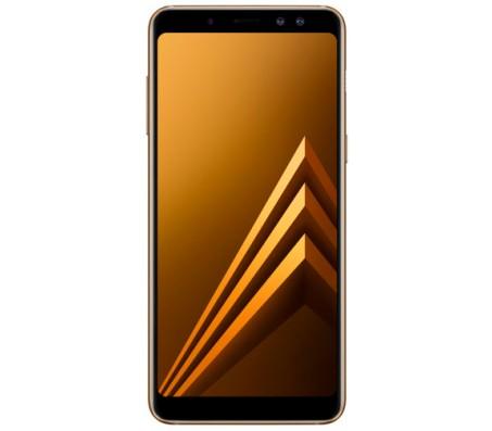 Смартфон  Samsung Galaxy A8 (2018) 32GB (золотистый)