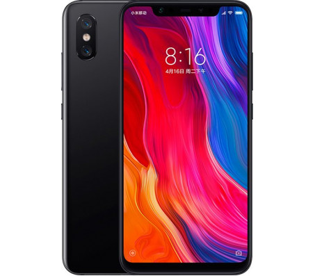 Смартфон Xiaomi Mi 8 6GB/128GB (черный)