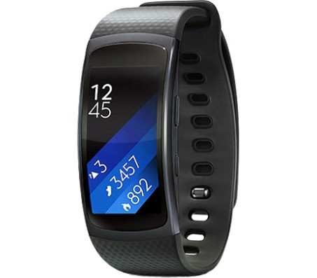 Фитнес-браслет Samsung Gear Fit 2 (черный) [SM-R360]
