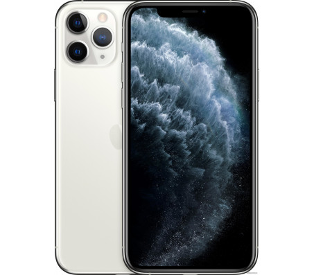 Смартфон Apple iPhone 11 Pro Max 64GB (серебристый)